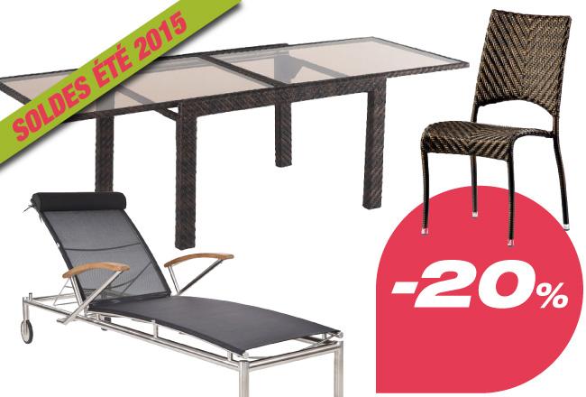 salon de jardin inox brosse. Black Bedroom Furniture Sets. Home Design Ideas